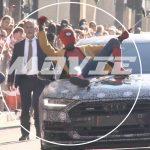 「スパイダーマン・ホームカミング」がプレミア上映。スパイダーマンは新型A8に乗って登場