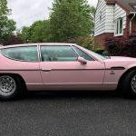 珍しいランボルギーニ・エスパーダ、しかもピンクの個体がebayに出品中