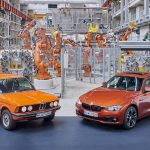 BMW3シリーズは40周年。BMWが初代3シリーズと現行3シリーズとを対面させる企画を実施