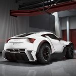 本当に発売する模様。中東の新興メーカーから砂上のスーパーカー「ザルーク・サンドレーサー」