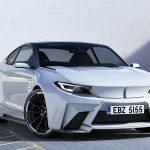 M×i。デザイナーの考えるエレクトリックスポーツ「BMW iM2」が格好良い件