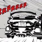 ホンダがまたまた意味不明動画を公開。巨大ロボに立ち向かうシビック・タイプR。