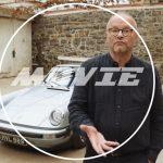 「このポルシェ911な、EVなんよ」。1979年製911にテスラのバッテリーを移植しEV化した男が登場