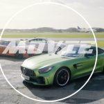 クリス・ハリスが911GT3RS、BMW M4GTS、AMG GT Rをテスト。意外とスペックの近い3台