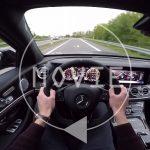 ジャーマンスリーのハイパフォーマンスサルーン対決。AMG E63、BMW M5、アウディRS7の加速やサウンドを比較してみよう