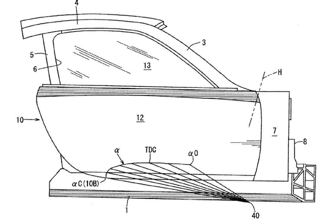 この画像には alt 属性が指定されておらず、ファイル名は mazda-door-patent2.jpg です