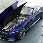ヴィジョン・メルセデス・マイバッハ6カブリオレ発表。とにかくデカいのに2人乗り。世界で最も贅沢な車か