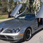 マイケル・ジョーダンの乗っていたマクラーレンSLR722エディションが中古にて。価格は7000万円