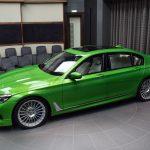 BMWアブダビが今度はアルピナ出してきた。B7の巨体に明るい「ジャバ・グリーン」