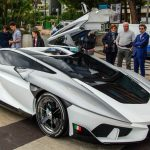 さすがモナコ。完全にSF映画な車(900馬力のEV)が目撃される