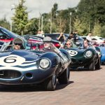 総額100億円以上、おそらく世界で最も高価な車が集まったミーティング。ジャガーD-Typeのル・マン優勝60周年記念イベント