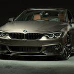BMWが4シリーズグランクーペ、M5用のMパフォーマンスパーツ公開。あわせて内装カスタムも