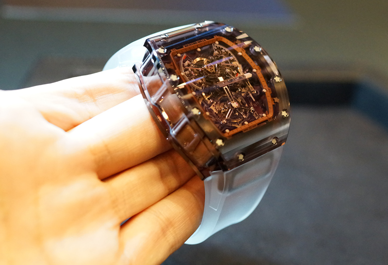 innovative design 32a61 fa168 リシャール・ミルの展示会に行ってきた。これが1本2億5000万円の ...