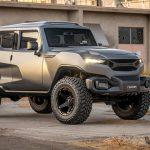 """レズバニが新型SUV「タンク」発表。テーマは""""ミリタリー+フューチャー""""、防弾仕様も"""