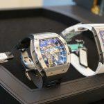 リシャールミル・サロン心斎橋へ。「億」オーバーの腕時計がずらり並ぶ異次元空間