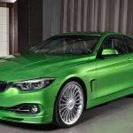 BMWアブダビがカスタムされたアルピナB4 Sビターボを展示。ジャバグリーンにゴールドのライン入り