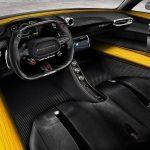 1.8億円、ヘネシー・ヴェノムF5の内装画像公開。シートは左右連結、ステアリングホイールはレースカー風
