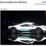 超限定ハイパーカー、メルセデスAMGプロジェクト・ワンがさっそく転売。新車プラス2.5億円