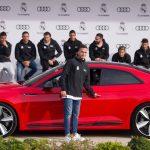 アウディがレアルマドリードの選手に車を提供。Q7が一番人気、ロナウドはRS7を選択