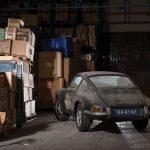 30年間放置された、2オーナーのポルシェ912(911の廉価版)が倉庫で発見。競売に
