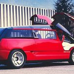 こんなコンセプトカーもあった。カウンタックのエンジンとガルウイングドアを持つミニバン「ベルトーネ・ジェネシス・ランボルギーニ」