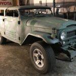 一体なぜ?トップチョップカスタムの途中で放置されたトヨタ・ランドクルーザー(FJ45)が発見