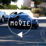パガーニ・ウアイラBCがイベント帰りに公道上でドリフトを披露。その音と走りを動画にて