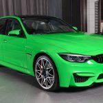 """BMWアブダビが「ランボルギーニ純正」ボディカラー、""""ヴェルデ・マンティス""""のM3を公開"""
