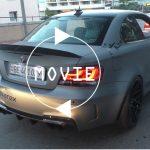 【動画】日本未導入のBMW 1M。モナコにてマシンガン並みのサウンドを放つカスタムカーが登場