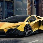 """ランボルギーニの次世代ハイパーカーはこうなる?デザイナーが""""Forsennato concept""""公開"""