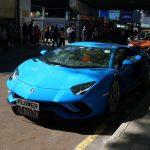 香港自動車事情、やはり多い高級車。ボディカラーはグレー(マット)、ブルー系が人気
