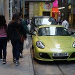 香港自動車事情。ランボルギーニは寒色系、フェラーリは暖色系?