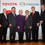 トヨタとマツダが共同にて米国工場建設。次期アクセラは両社共同開発、FRというウワサも