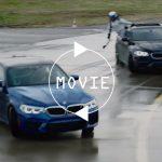 【動画】BMWがM5を使ったスタントを披露の予定。ツインドリフトを行う予告編を公開