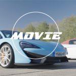 【動画】同じミドシップ、近い馬力。しかし重量差200キロのアウディR8、マクラーレン570Sとのゼロヨン勝負