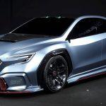 スバル「Viziv Performance STI Concept」デビュー。ハイブリッド4WDの構造はどうなる?
