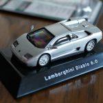 F-TOYS製、ランボルギーニ・ディアブロ6.0のミニカー(1/64)を買ってみた