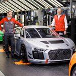 アウディR8のレーシングカー、「R8 LMS GT4」の販売好調。1日1台のペースで生産中
