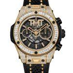 ウブロ(HUBLOT)がフロイド・メイウェザーとのコラボ腕時計発売。ゴールドスタッズ、ダイヤ付きでまんまメイウェザー