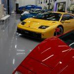 ランボルギーニ大阪/神戸新サービス工場へ。限定ムルシエラゴ、アヴェンタドールを画像にて