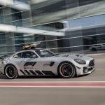 F1史上最速のペースカーとしてAMG GT R投入。F1のペースカーは22年もメルセデスのみだった件