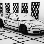 「マンガ塗り」ホンダNSX登場!日本発の表現技法が世界に羽ばたく。イニDの「アニメ塗り」も