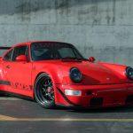 911カレラ4ベース、2シーター化されたRWBポルシェが販売中。エンジンにも手が入り400馬力へ