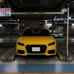 スーパーカー、スポーツカーを停めるのに「注意を要する」駐車場編。ホテル阪急インターナショナル