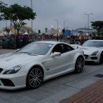 香港でのメルセデス・ベンツのイベント(1)。やってきたSL65 / SLSブラックシリーズを紹介