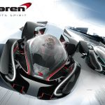 アーティストが「マクラーレンMotorsports Spirit」公開。超伝導コイル内蔵、冷却システムは窒素