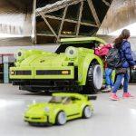 レゴとポルシェがタイアップ。実物大911ターボを製作して公開へ