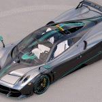 パガーニ・ウアイラが予定台数に達し生産終了。最後の一台はハミルトンのF1マシン風
