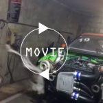 【動画】ダイソンもびっくり!チューニングカーのタービンが掃除機のように布を吸い寄せる