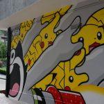 香港・セントラルはインスタ映えするアートっぽい壁がいっぱい。香取慎吾アートもある